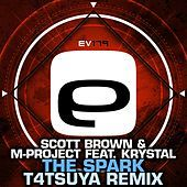 Thumbnail for the Scott Brown - The Spark (T4TSUYA Remix) link, provided by host site