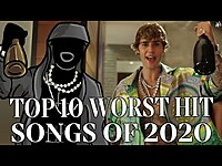 Thumbnail for the Todd in the Shadows - The Top Ten Worst Hit Songs of 2020 link, provided by host site