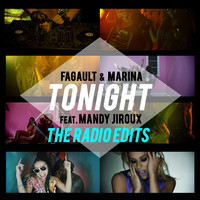 Thumbnail for the Fagault & Marina - Tonight (Starkillers Radio Edit Instrumental) link, provided by host site