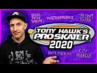Thumbnail for the The Punk Rock MBA - TONY HAWK PRO SKATER 2020 SOUNDTRACK (what I'd put on it) link, provided by host site