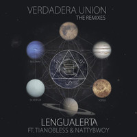 Thumbnail for the Lengualerta - Verdadera Union Remixes link, provided by host site