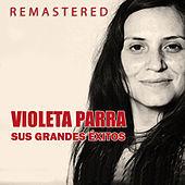 Thumbnail for the Violeta Parra - Violeta Parra, sus grandes éxitos link, provided by host site
