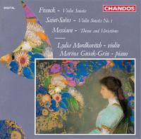 Thumbnail for the César Franck - Violin Sonata in A Major, M. 8: III. Recitativo - Fantasia: Ben moderato - Molto lento - A tempo moedrato link, provided by host site