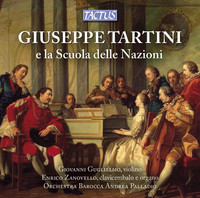 Thumbnail for the Giuseppe Tartini - Violin Sonata in E minor, Be3: III. Presto link, provided by host site