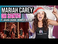 Thumbnail for the Tara Simon - Vocal Coach Reacts to Mariah Carey - Oh Santa! link, provided by host site