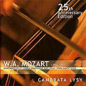 Thumbnail for the Camerata Lysy - W. A. Mozart - 25th Anniversary Edition: Divertimento KV137 - Church Sonatas KV68, KV67, KV224 - String Quintet KV516 link, provided by host site