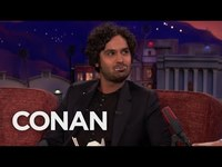 """Thumbnail for the Kunal Nayyar - Wants A """"Big Bang Theory"""" Spin-Off - CONAN on TBS link, provided by host site"""