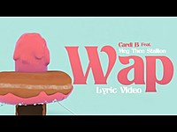 Thumbnail for the Cardi B - WAP link, provided by host site