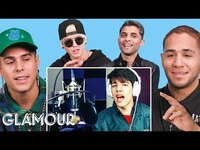 Thumbnail for the CNCO - Watches Fan Covers on YouTube   Glamour link, provided by host site