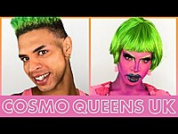 Thumbnail for the Yvie Oddly - Watermelon Bubblegum Look is Everything | Cosmo Queens UK link, provided by host site