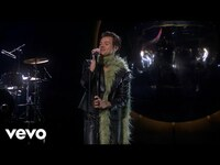 Thumbnail for the Harry Styles - Watermelon Sugar (LIVE at the 63rd Grammys) link, provided by host site