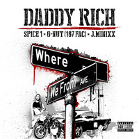 Thumbnail for the Daddy Rich - Where We From link, provided by host site