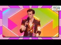 Thumbnail for the Harry Styles - Wins British Single | The BRIT Awards 2021 link, provided by host site