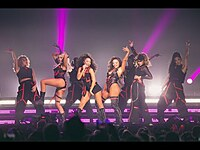 Thumbnail for the Little Mix - Woman Like Me (LM5 : The Tour Film) link, provided by host site