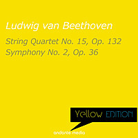 Thumbnail for the Ludwig van Beethoven - Yellow Edition - Beethoven: String Quartet No. 15, Op. 132 & Symphony No. 2, Op. 36 link, provided by host site