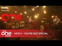 Thumbnail for the McFly - You're Not Special (Live on The One Show) link, provided by host site