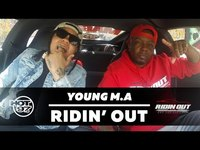 Thumbnail for the Young M.A - YOUNG M.A - RIDIN' OUT link, provided by host site